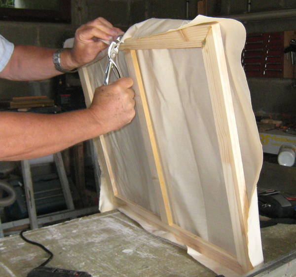 fabriquer soi m me un ch ssis toil de peintre toile. Black Bedroom Furniture Sets. Home Design Ideas