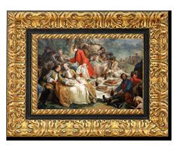 Choisir le cadre d 39 un tableau for Cadre pour tableau peinture