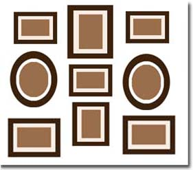 disposer cadres mur ides pour disposer et accrocher vos cadres marieus home agrandir de. Black Bedroom Furniture Sets. Home Design Ideas