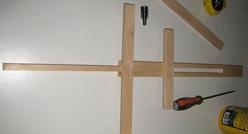 Fabriquer un mini chevalet d 39 exposition - Fabriquer un chevalet pour couper du bois ...