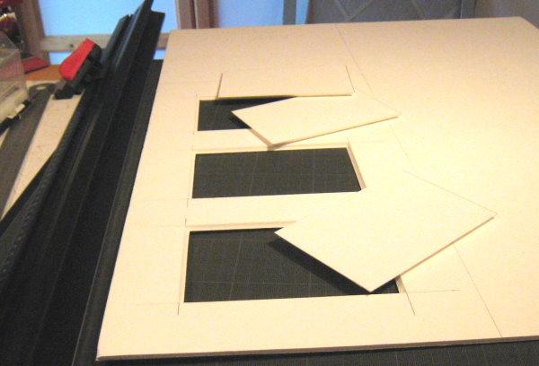 encadrement multi vues classique passe partout et biseau anglais. Black Bedroom Furniture Sets. Home Design Ideas