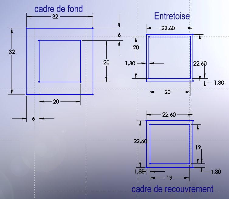 Dimension tableau pour fenetre