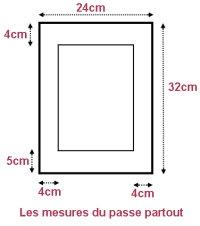 encadrer un tableau fabriquer un passe partout fen tre image. Black Bedroom Furniture Sets. Home Design Ideas
