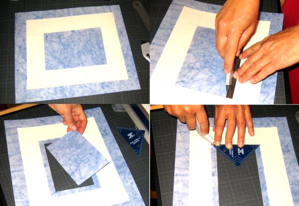 fabriquer un encadrement rustique en planches de r cup ration style cabane de p cheurs. Black Bedroom Furniture Sets. Home Design Ideas