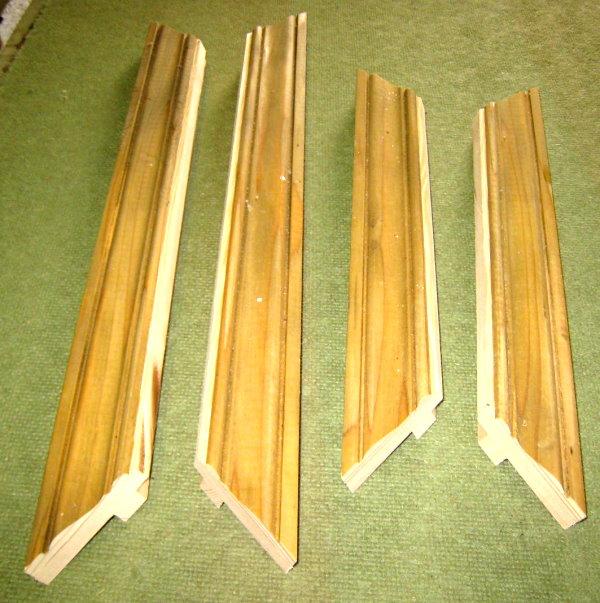 Fabriquer un cadre en bois tout simple ~ Moulure Bois Pour Encadrement