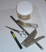 Encadrer un tableau fabrication d 39 un cadre simple for Materiel encadrement tableaux