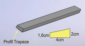 profil chassis trapézoidal
